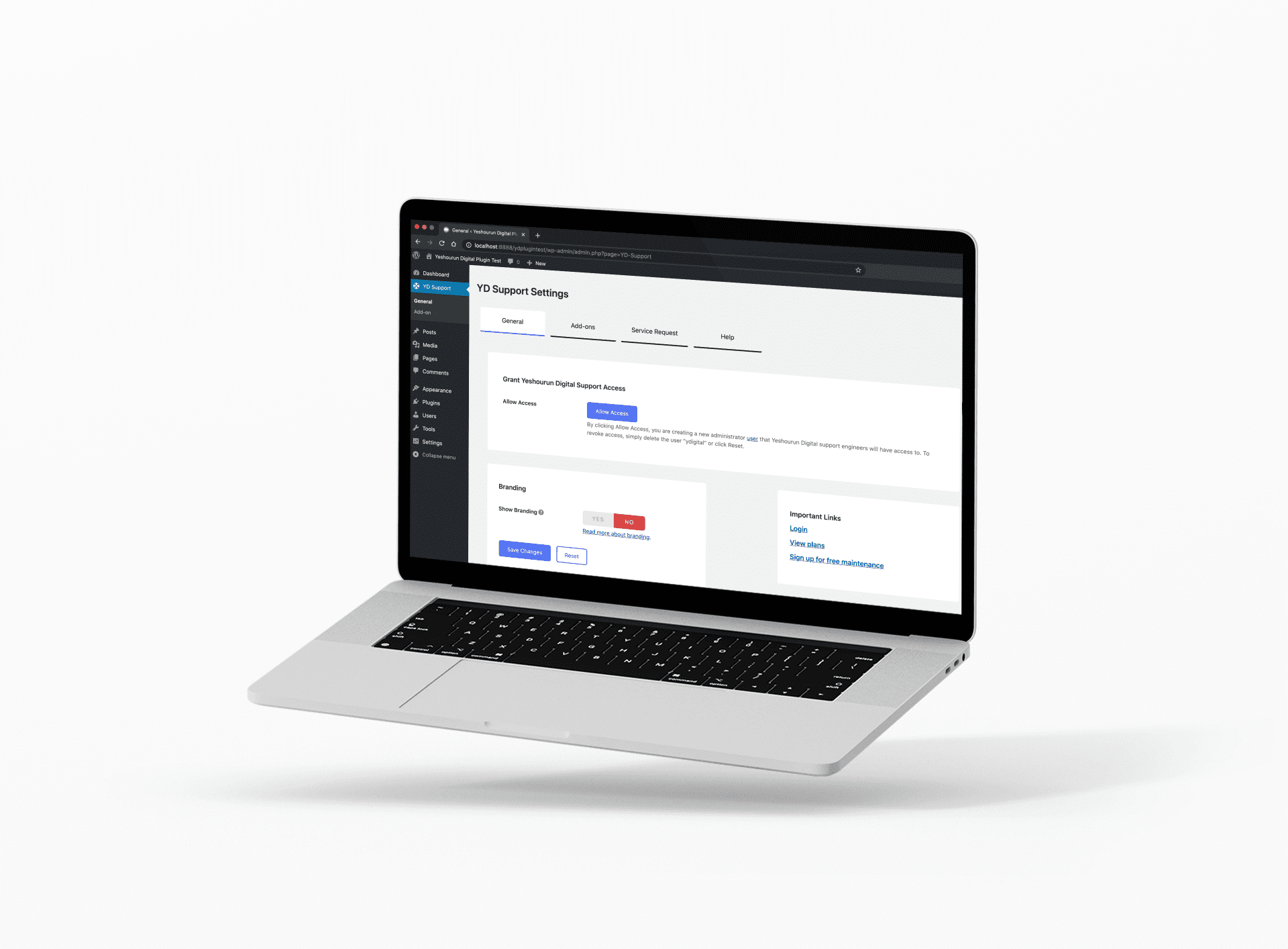 Yeshourun Digital website support